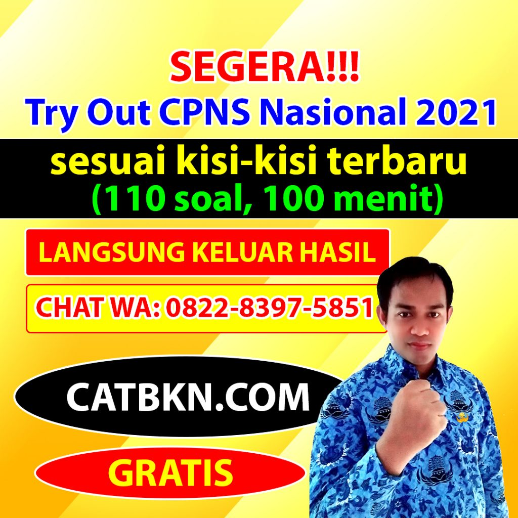 try out cpns 2021 nasional catbkn